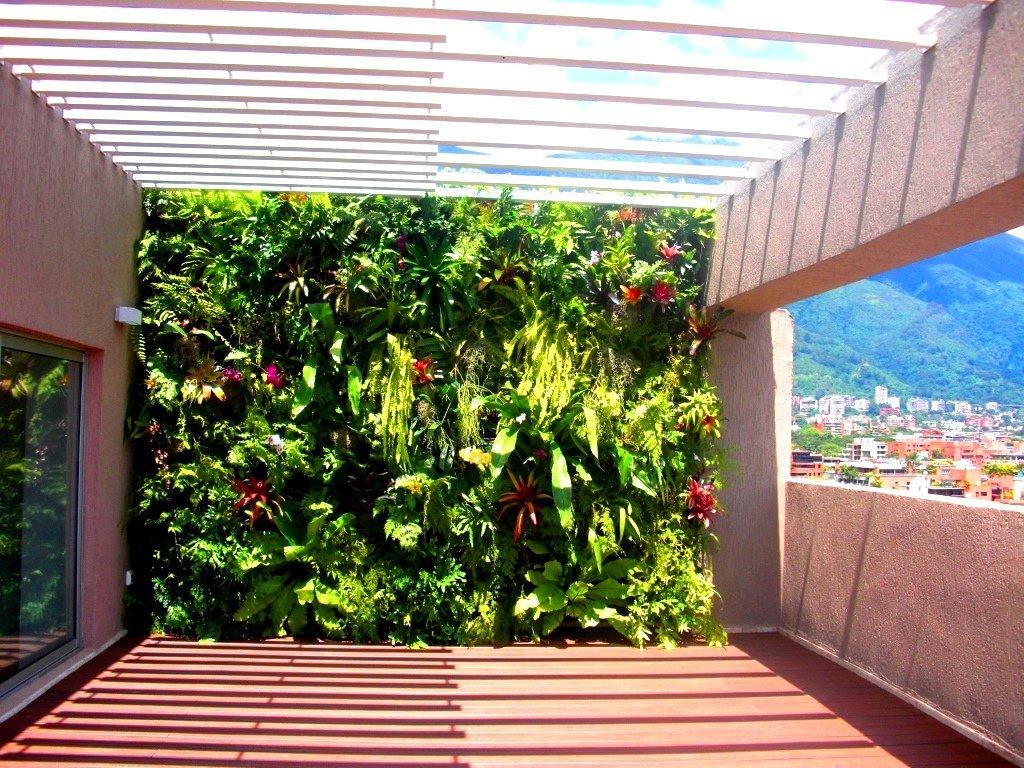 Proyecto y ejecuci n de obra jard n vertical terraza for Jardin vertical terraza