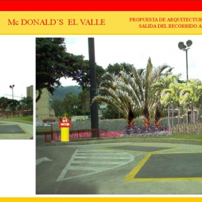 Foto Realismo Mc Donald's El Valle