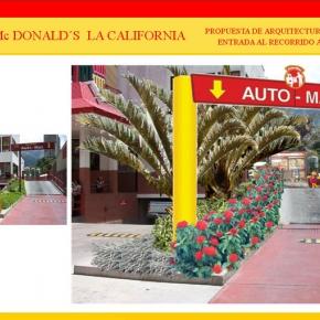 Foto Realismo Mc Donald's La California