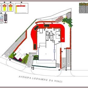 Proyecto de Arquitectura Paisajista Mc Donald's Bello Monte