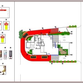 Proyecto de Arquitectura Paisajista Mc Donald's La California