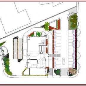 Proyecto de Arquitectura Paisajista Mc Donald's La Castellana