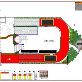 Proyecto de Arquitectura Paisajista Mc Donald's Las Mercedes