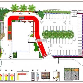 Proyecto de Arquitectura Paisajista Mc Donald's La Trinidad