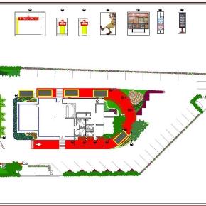 Proyecto de Arquitectura Paisajista Mc Donald's Mariches