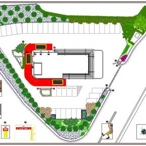 Proyecto de Arquitectura Paisajista Mc Donald's Vizcaya