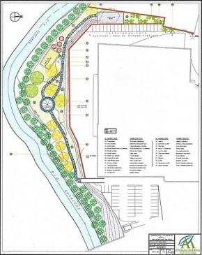 Proyecto de Arquitectura Paisajista Area Residencial