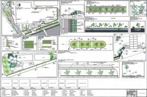 Proyecto de Arquitectura Paisajista Fachada Principal
