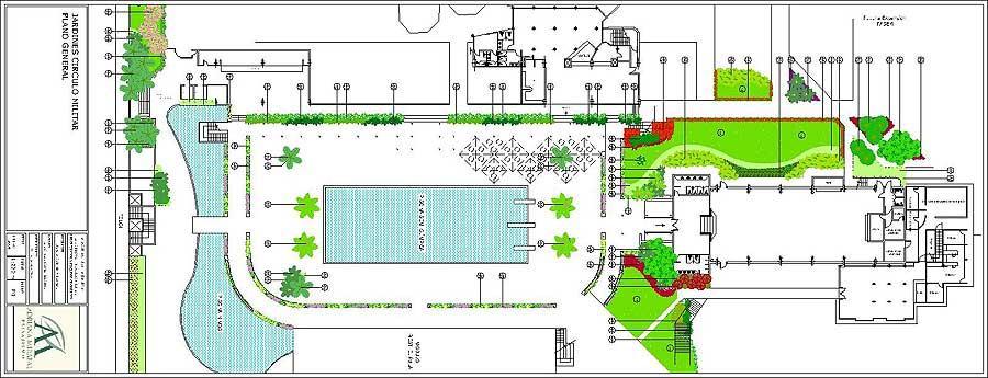 Proyecto Jardines Adyacentes Al Sal N Jun N Del C Rculo