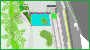 Detalle Espejo de Agua (Planta)