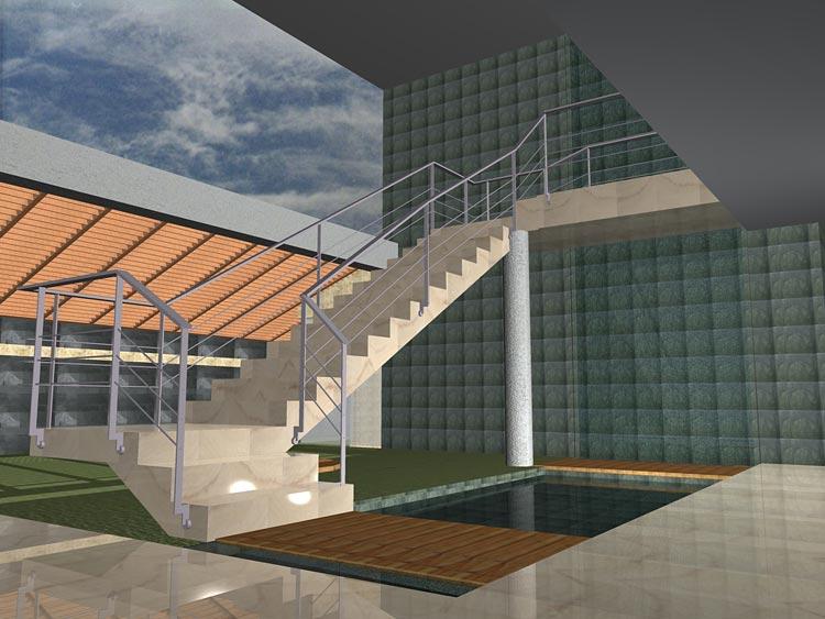 Proyecto jard n residencial exterior jardines sobre losa for Proyecto jardineria