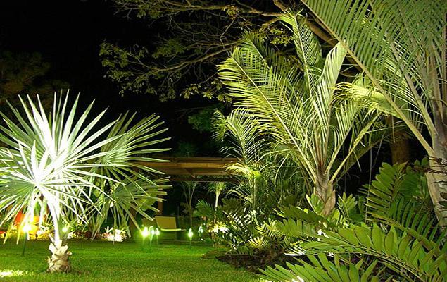 Proyecto de alcance residencial p rgola deck y celos a for Iluminacion de jardines modernos