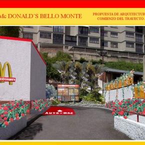 Foto Realismo Mc Donald's Bello Monte