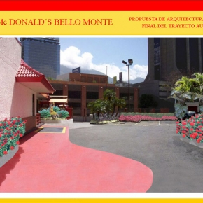 Foto Realismo Mc Donald's Bello Monte