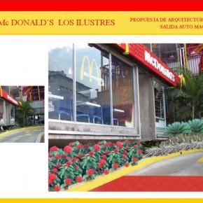 Foto Realismo Mc Donald's Los Ilustres