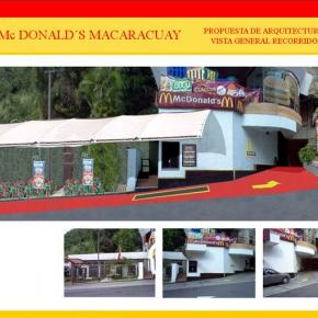 Foto Realismo Mc Donald's Macaracuay