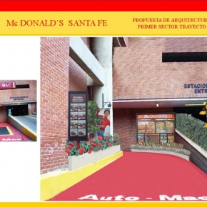 Foto Realismo Mc Donald's Santa Fé