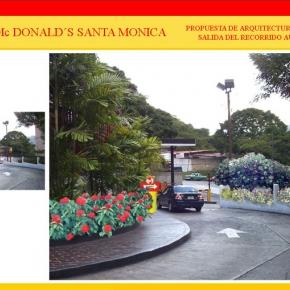 Foto Realismo Mc Donald's Santa Mónica