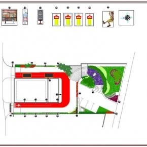 Proyecto de Arquitectura Paisajista Mc Donald's Chacao