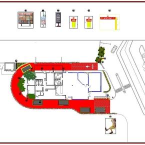Proyecto de Arquitectura Paisajista Mc Donald's Los Teques