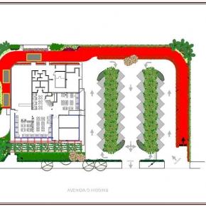 Proyecto de Arquitectura Paisajista Mc Donald's El Paraíso 1