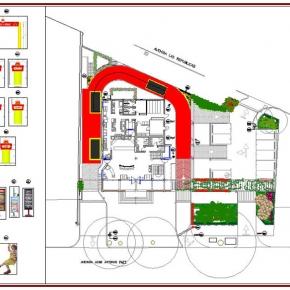 Proyecto de Arquitectura Paisajista Mc Donald's El Paraíso 2