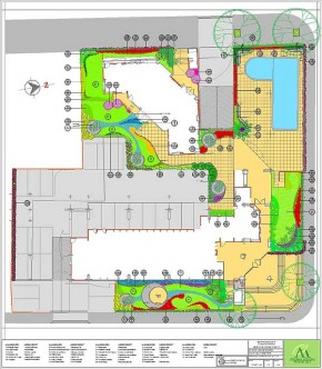 Proyecto de Arquitectura Paisajista Planta Baja
