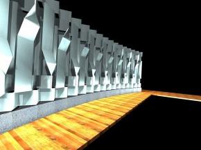 Foto Realismo Mural Monumental Incorporado a Área de Piscina
