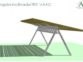 Proyecto Peérgola Inclinada Para Equipo De Trx Vaac