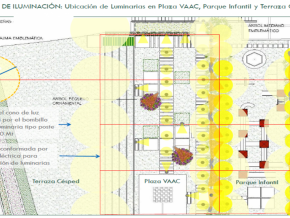 Proyecto De Iluminacion Plaza-Parque-Terraza