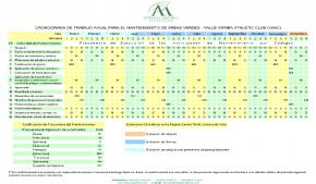 CRONOGRAMA DE ACTIVIDADES DE MANTENIMIENTO VAAC